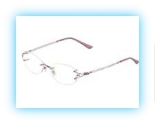Ladies Metal Frame Less